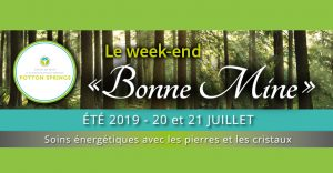 Weekend « Bonne Mine » @ CSRS Potton Springs